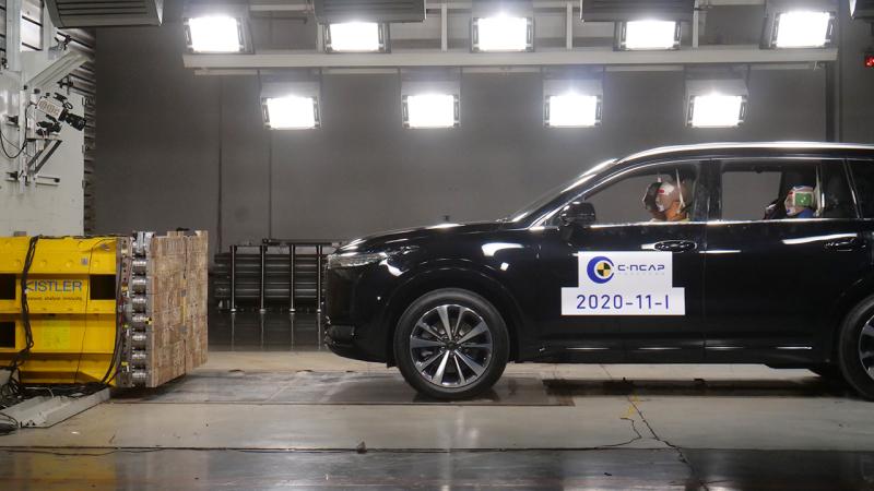 理想ONE获得C-NCAP五星安全评价