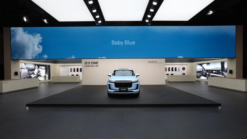 理想亮相上海国际车展